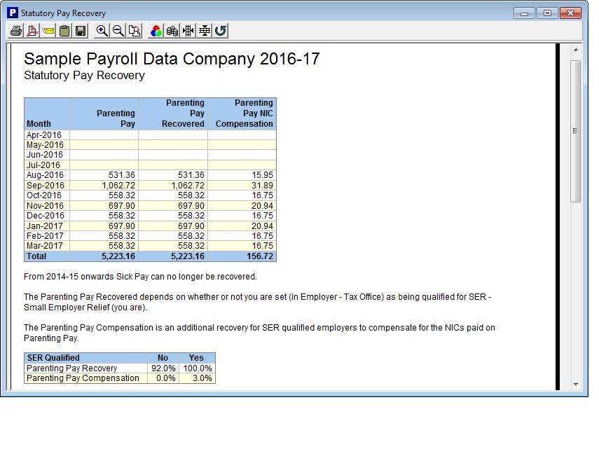 Statutory Maternity Pay Smp